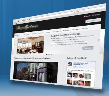 Vi bygger websites og webapplikationer